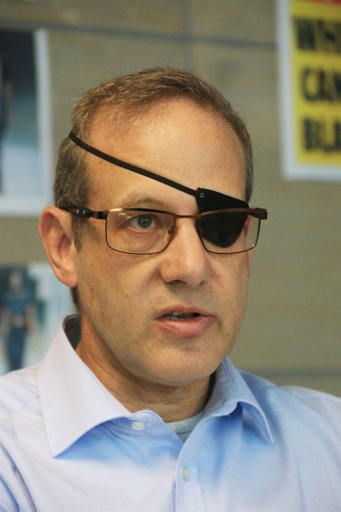 Financieel directeur Munroe Swirsky, die de speurders uitlegde hoe diamantair Daleyot de banken had opgelicht.