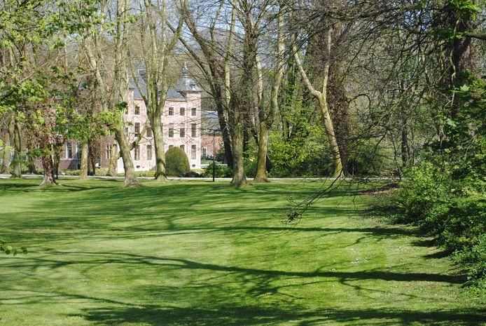 Het kasteel van Coloma in Sint-Pieters-Leeuw.