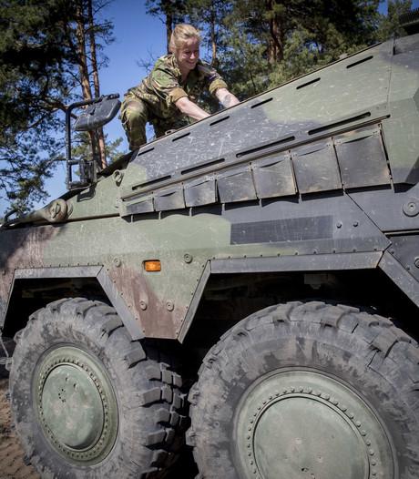 Militaire oefening in gemeente Haaren