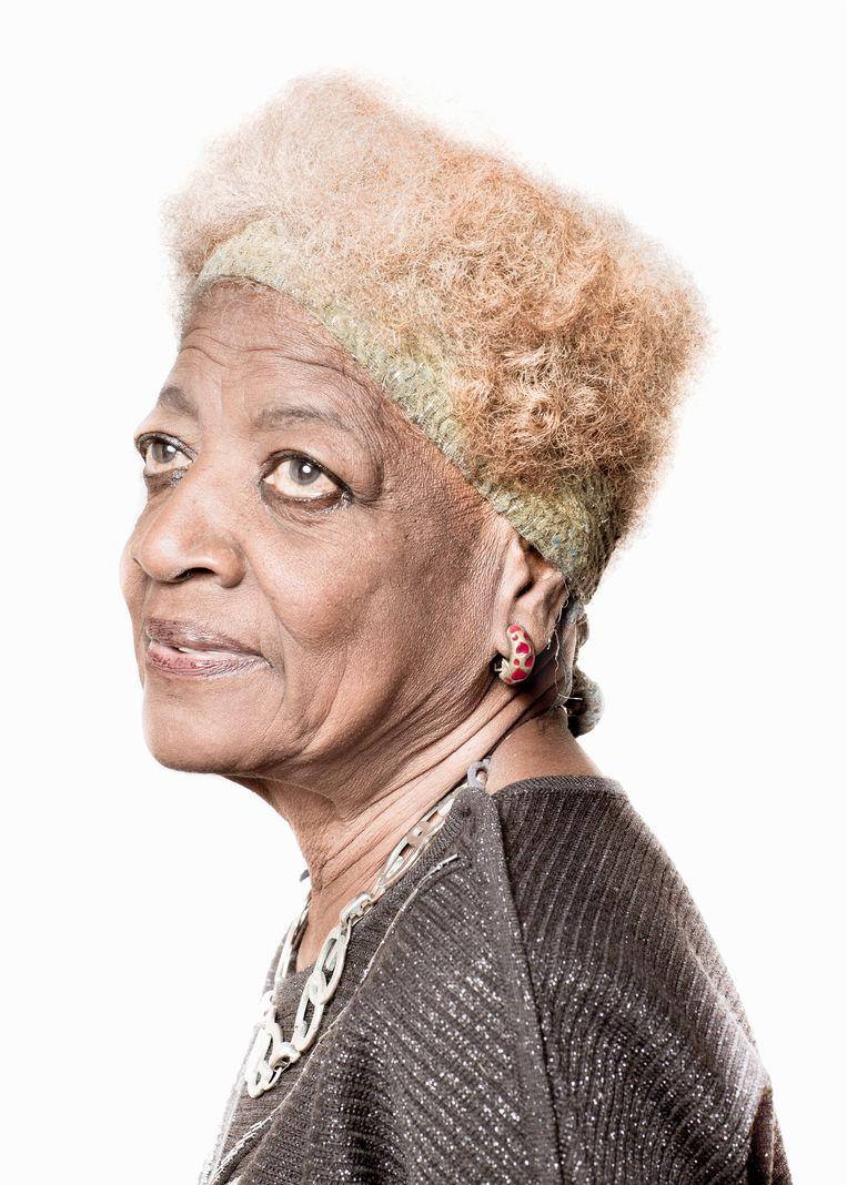 Een portret van Ada (78) uit Havana.  Beeld ©Lieve Blancquaert