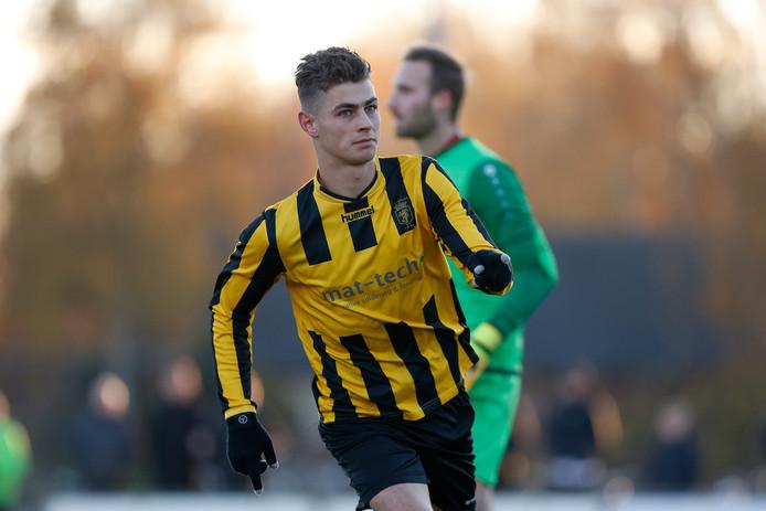 18-11-2018: Voetbal: HVV Helmond v Rood Wit 62: Helmondzondag 5e klasse EDe 1-0 door Jordi van Wetten van HVV Helmond
