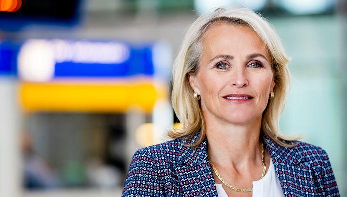 Marjan Rintel, binnenkort president-directeur van de Nederlandse Spoorwegen.