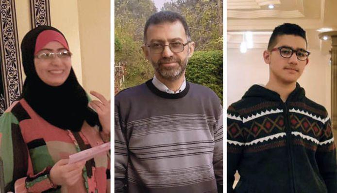 Bassim Razzo verloor onder anderen zijn vrouw, dochter en broer bij een bombardement.