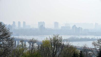 """Lucht boven Kiev bijna meest vervuilde ter wereld door brand bij Tsjernobyl: """"Alleen rook, geen radioactiviteit"""""""