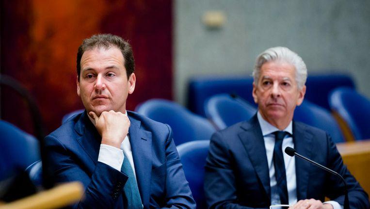 Lodewijk Asscher (links) en Ronald Plasterk. Beeld anp