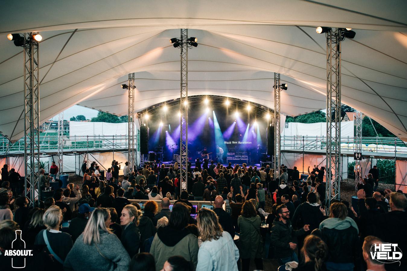 De openingsavond van de Arena in Het Veld op 1 juli.