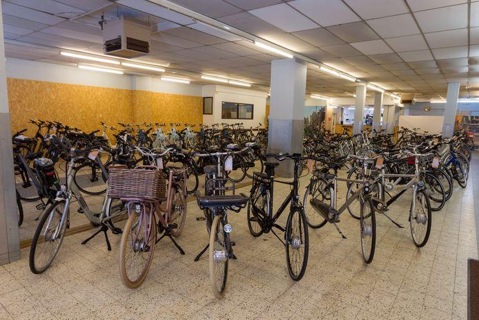 Het interieur van Used E-bikes.