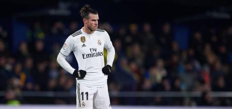 Bale aan de kant bij Real Madrid met spierblessure