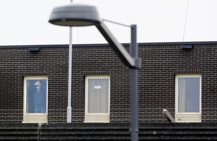 Het detentiecentrum bij Rotterdam Airport.