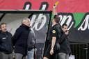 NEC-trainer Jack de Gier krijgt geel tegen Roda JC.