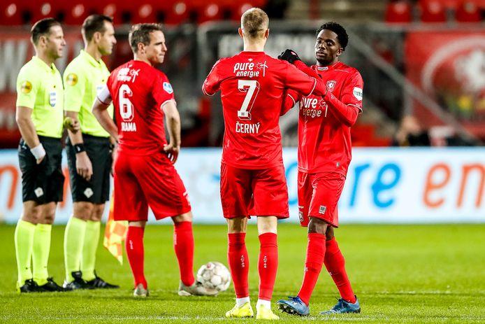 De één komt van FC Utrecht: Vaclav Cerny. De ander staat op de radar bij FC Utrecht: Queensy Menig.