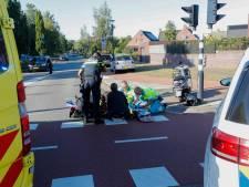 Scooterrijder gewond na aanrijding bij Meerhovendreef in Eindhoven