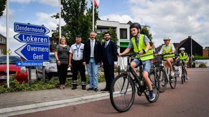 Nieuw parcours bereidt leerlingen voor op fietsexamen