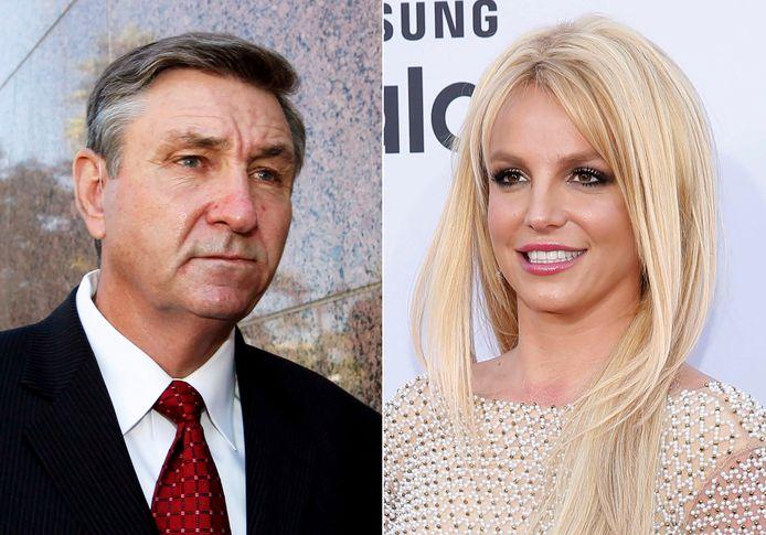 Jamie Spears et sa fille, la chanteuse Britney