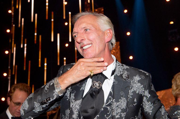 Gouden Televizier-Ring Gala 2019 in het AFAS Live, Amsterdam.  Op de foto:  Gouden Televizier-Ring voor Chateau Meiland met Martien Meiland Beeld Brunopress/Patrick van Emst