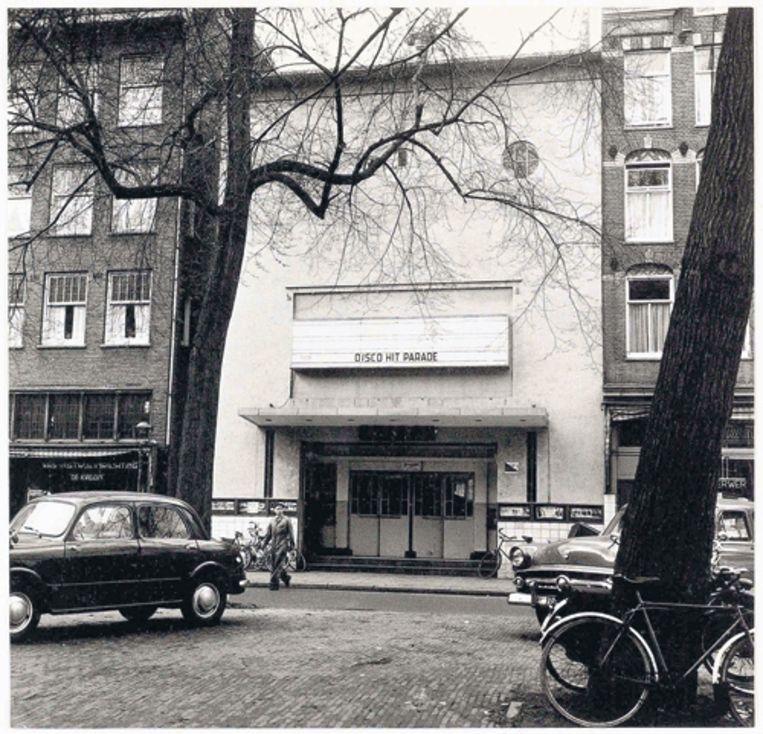 Het Edisontheater aan de Elandsgracht in 1959. Foto J.M. Arsath Ro'is/Stadsarchief Beeld
