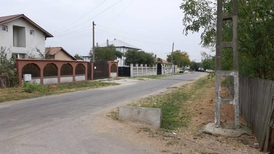 De plek in het dorp waar Mihaela is ontvoerd