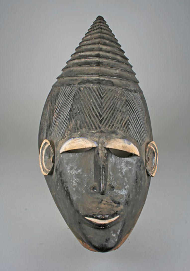 Masker van de Igbo-stam, 19de/20ste eeuw Beeld Metropolitan Museum NY