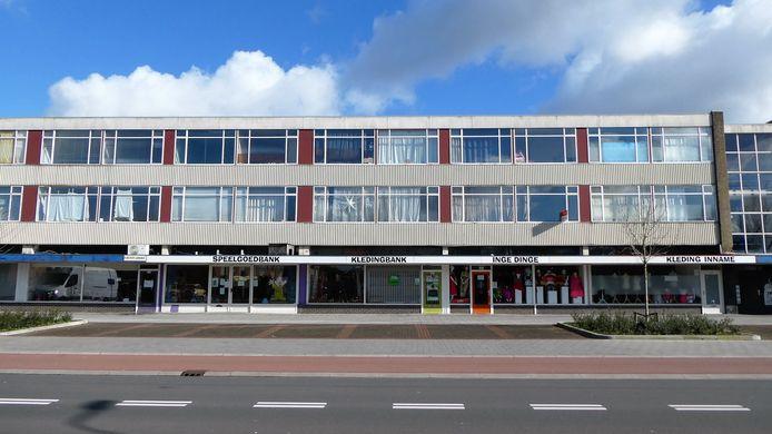 Winkelstrip aan de Kooikersweg in Den Bosch.