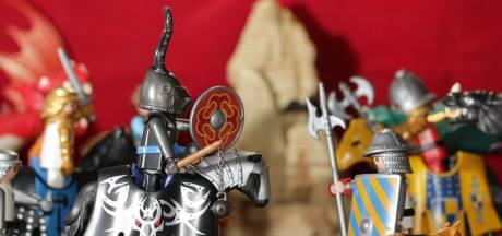 Playmobil-expositie in de Speelgoedbank Gorinchem