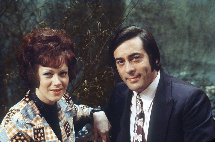 Gert en Hermien in 1979.