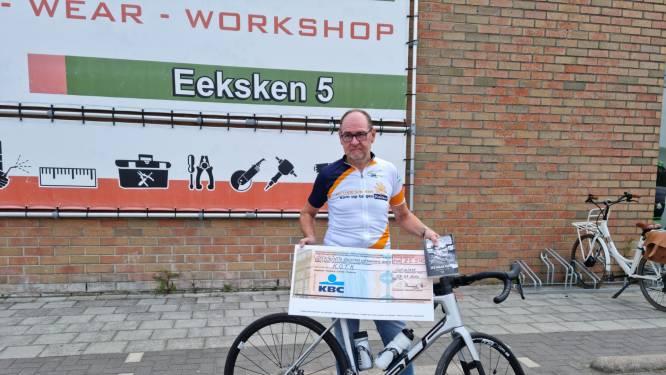 Marc Van Wiemeersch fietst meer dan 25.000 euro bij mekaar voor Kom op tegen Kanker