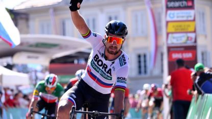 Dubbelslag voor Peter Sagan: Slovaak sprint naar de zege in Ronde van Zwitserland en is de nieuwe leider