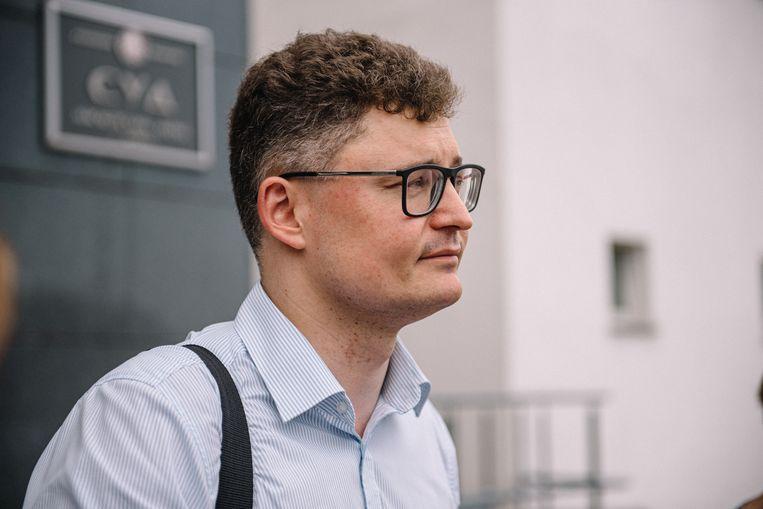 Advocaat Dmitri Laevski is uit zijn ambt gezet, maar blijft strijdbaar. Beeld Viktor Babariko