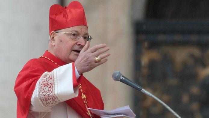 Kardinaal Angelo Sodano maakte de omstreden uitspraak.