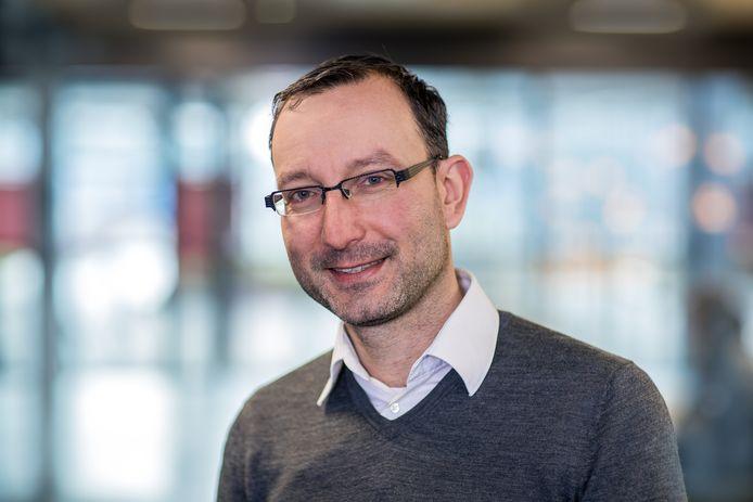 Universitair hoofddocent aan de TU/e Dirk Fahland.