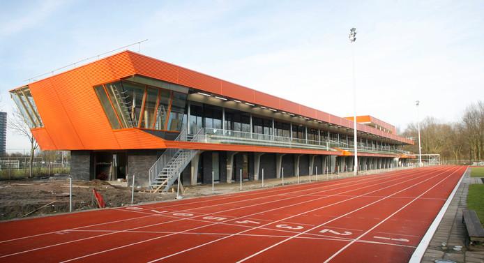 Archieffoto van de atletiekbaan in Eindhoven.