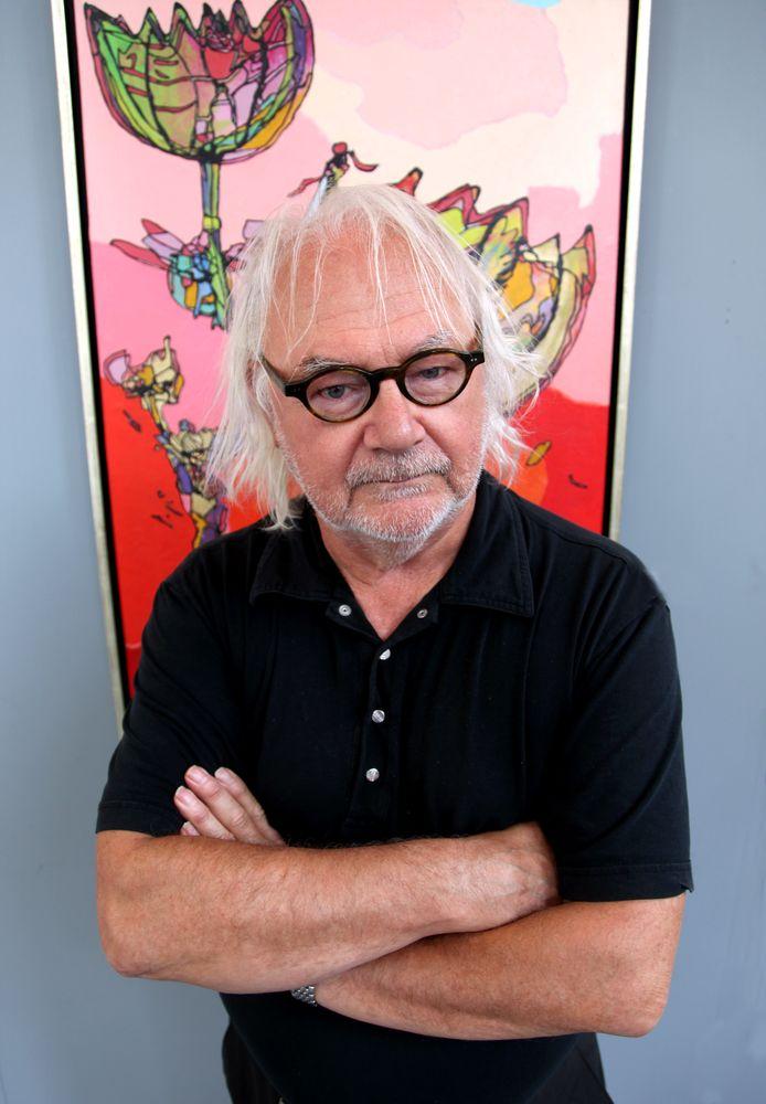 Kunstenaar Jan Latinne.