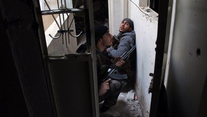 Rebellen in Syrië. Foto ter illustratie.