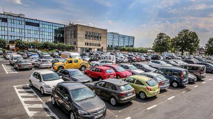 toekomstige Parking onder Conservatoriumplein slankt af