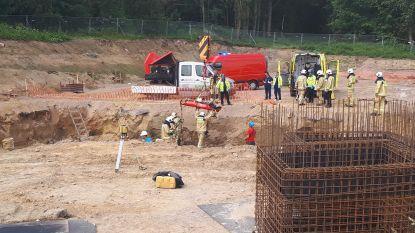 Arbeidsongeval middenin bouwwoede