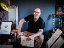 Blije reacties tillen illustrator Marco (50) uit muziekdip: 'Iedereen liep met een smile, kreeg er kippenvel van'