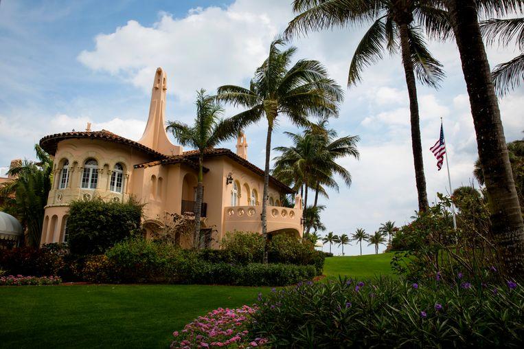 Donald Trump's Mar-a-Lago-resort in Palm Beach, Florida.  Beeld NYT