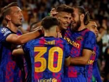 Matig Barcelona boekt dankzij Piqué broodnodige zege in Champions League