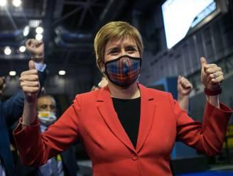 """Sturgeon ziet meerderheid voor onafhankelijkheid in Schots parlement, Boris Johnson wil """"samenwerken"""""""
