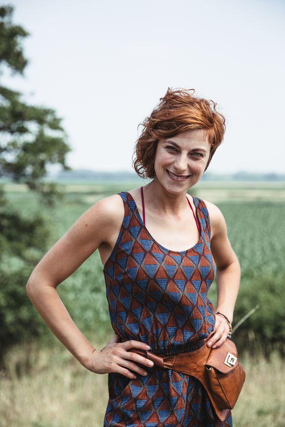 Actrice Laurian Callebaut uit Lokeren maakt haar schermdebuut in GR5.