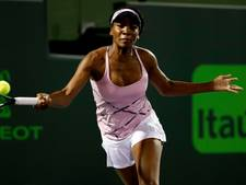Venus Williams twintig jaar na debuut weer in kwartfinales Miami