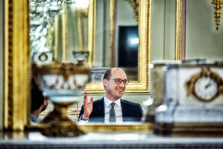 Minister van Financiën Vincent Van Peteghem (CD&V): 'We hebben de criteria verscherpt om ervoor te zorgen dat de Voorstellen van vereenvoudigde aangifte correct zijn.' Beeld Tim Dirven