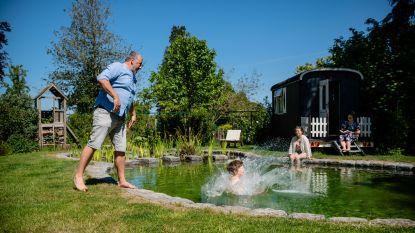 Met een luxetent of zwemvijver: deze twee lezers tonen hoe je deze zomer kunt relaxen in je eigen tuin