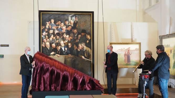 """Bourlons redden topwerk voor nieuwe expo in Het KUNSTUUR: """"Hing vastgespijkerd aan lambrisering"""""""