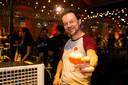 Glenn Castelein (oud-Nederlands voor herbergier) van brouwerij Alvinne.