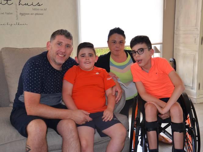 Broertjes Danté (13) en Mylow (8) hebben allebei genetische afwijking: vrienden starten crowdfunding zodat ouders kosten kunnen dragen