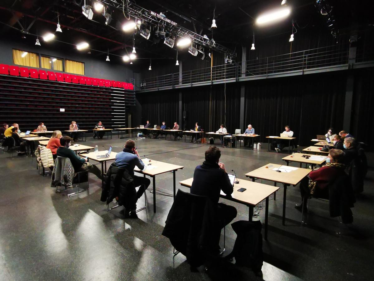 De gemeenteraad van Hooglede vergaderde maandagavond in de Gulden Zonne
