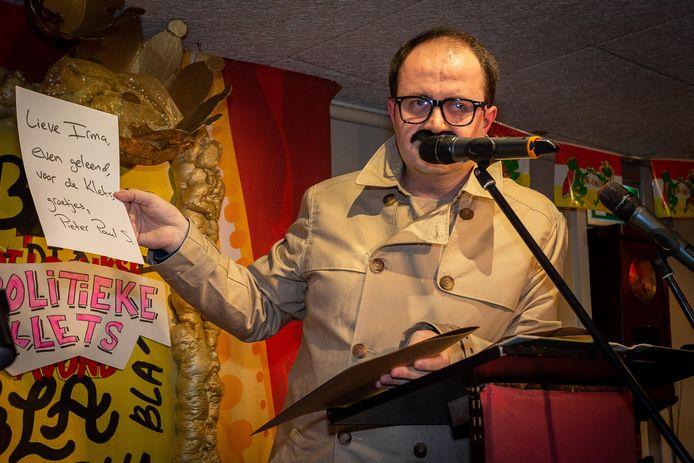Ufuk Kâhya, winnaar van de Politieke Kletsavond in 2019 verdedigt zijn titel.