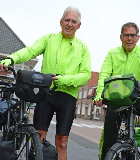 De een koopt na zijn pensioen een cabrio en Jos uit Hengelo fietst met Jan uit Almelo naar Rome