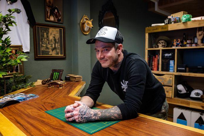 Barry Lejeune van Old Blood Tattoo in Boom.